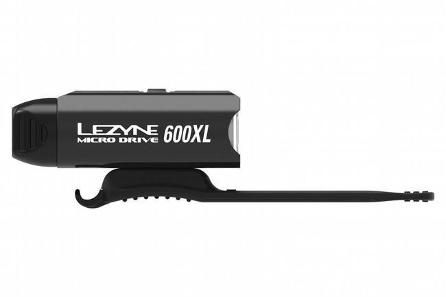 Lezyne Micro Drive 600XL Front Light Black / Hi Gloss