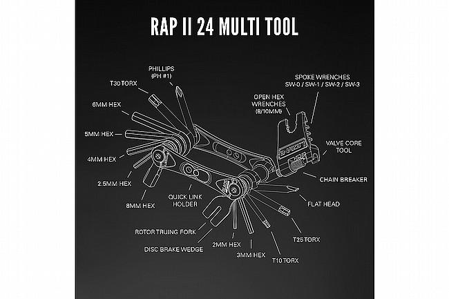 Lezyne Rap II Multi-Tool  24