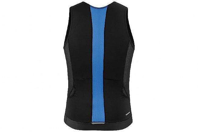 Louis Garneau Mens Sprint Tri Sleeveless Jersey Black/Dazzling Blue