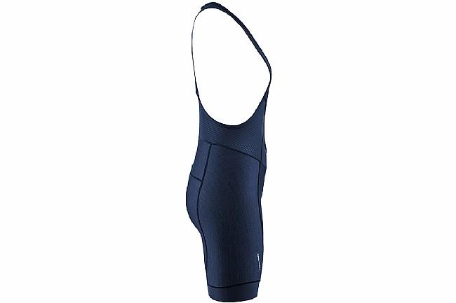 Louis Garneau Womens Fit Sensor Texture Bib Shorts Dark Night