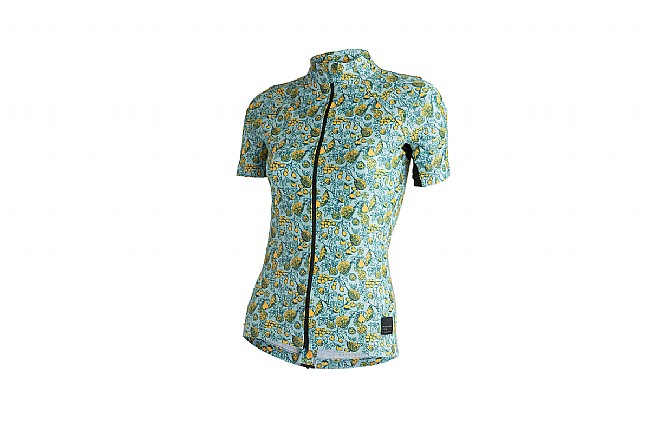 Machines For Freedom Womens Fruits Print Jersey Fruits