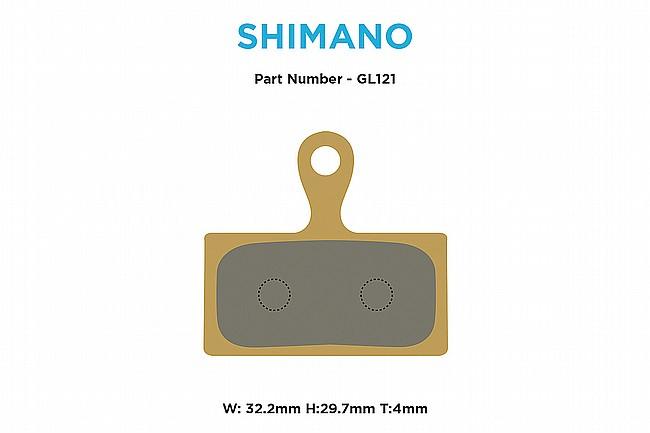 MTX Braking Gold Label HD Brake Pads Shimano XT/XTR 2-piston