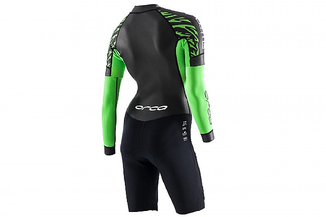 Orca Womens SwimRun Core One-Piece Wetsuit w/ Removable Sleeves
