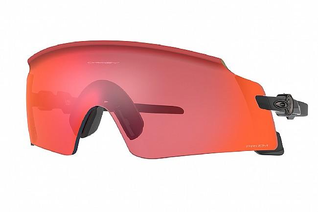 Oakley Kato X Sunglasses Polished Black/Slate w/PRIZM Trail Torch