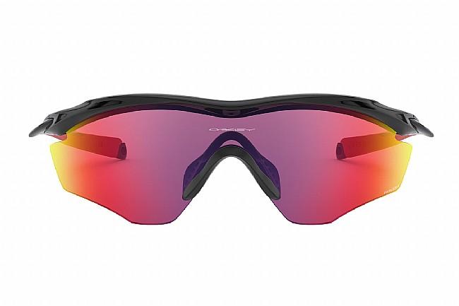 Oakley M2 Frame XL Sunglasses Polished Black w/PRIZM Road