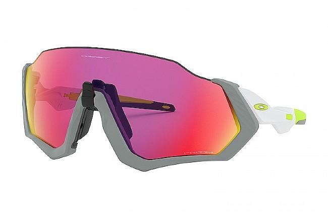Oakley Flight Jacket Sunglasses Matte Fog - Prizm Road Lenses