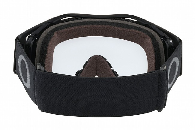 Oakley Airbrake MTB Goggles Black/Gunmetal - Prizm Low Light Lenses