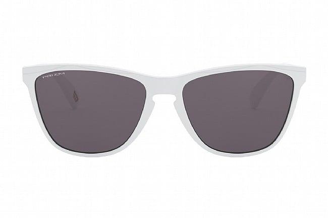 Oakley Frogskins 35th Anniversary Sunglasses Polished White w/ Prizm Grey