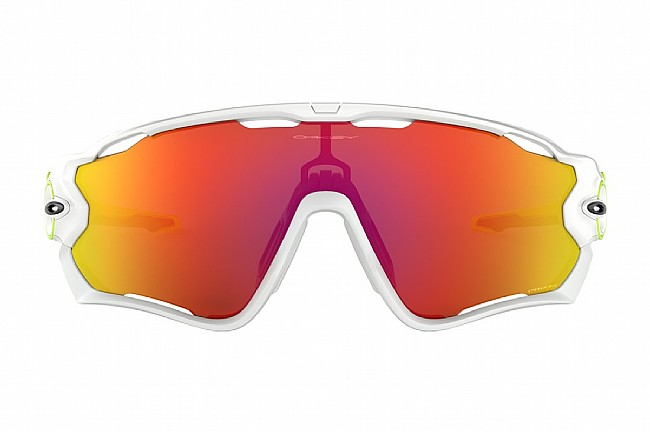 Oakley Origins Jawbreaker Sunglasses White/Retina Burn - PRIZM Ruby
