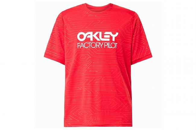 Oakley Pipeline Trail Tee Redline