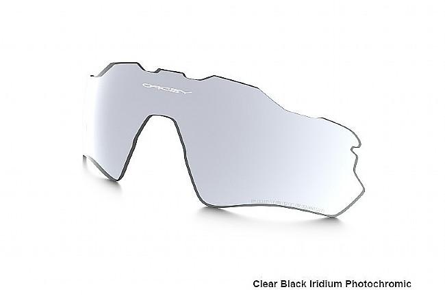 Oakley Radar EV Replacement Lenses Black/Clear Photochromic