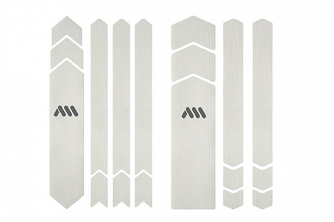 All Mountain Style Honeycomb Frame Guard - Full Clear