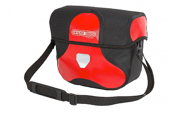 Ortlieb Ultimate Six Classic Handlebar Bag Red/Black 7L