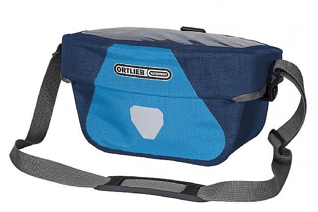 Ortlieb Ultimate Six Plus Handlebar Bag Denim/Steel Blue 5L
