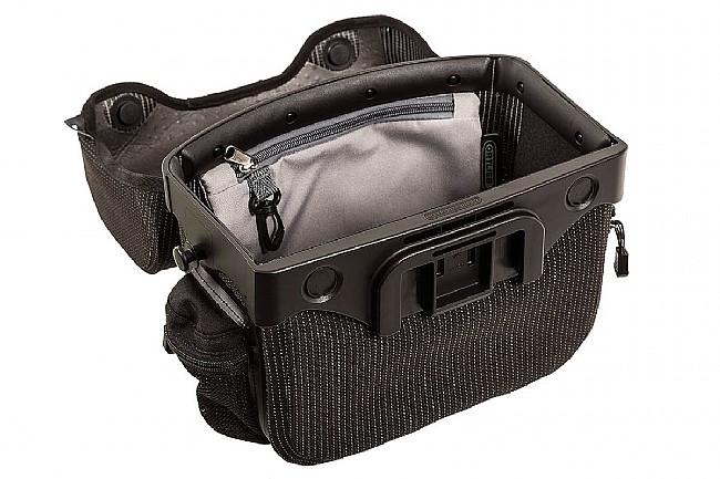 Ortlieb Ultimate Six High Visibility Handlebar Bag Black Reflex