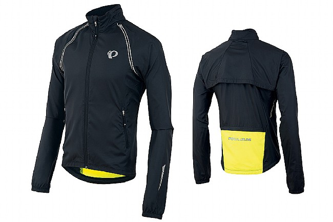 bf050dd27 Pearl Izumi Mens Elite Barrier Convertible Jacket at WesternBikeworks