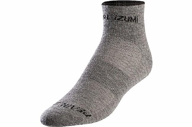 Pearl Izumi Womens Merino Sock Smoked Pearl Core