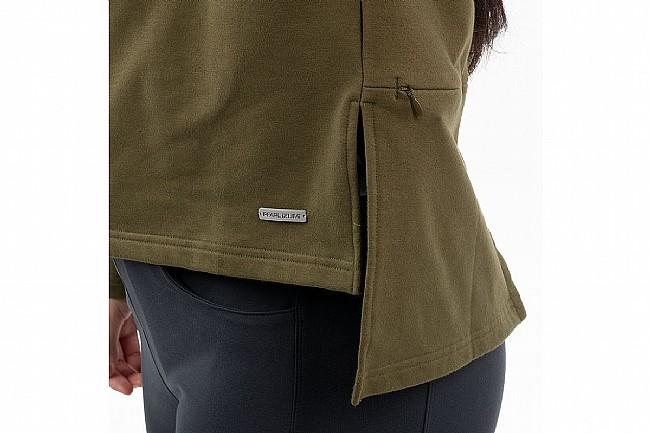 Pearl Izumi Womens Vista Fleece Pullover Dark Olive