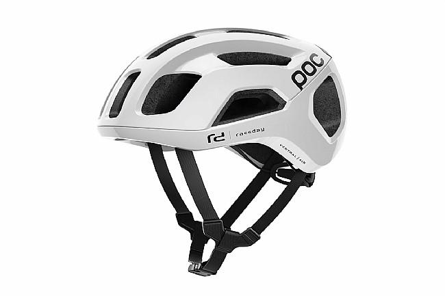 POC Ventral Air SPIN Road Helmet Hydrogen White Raceday