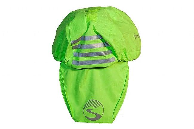 Showers Pass Helmet Cover Neon Green
