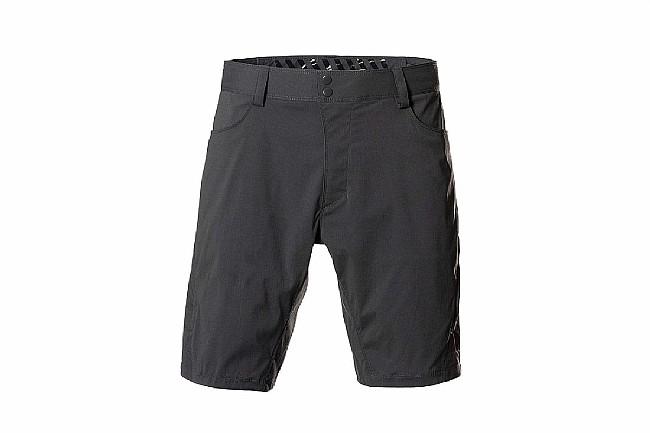 """Showers Pass Mens Gravel 10"""" Shorts Dark Shadow"""