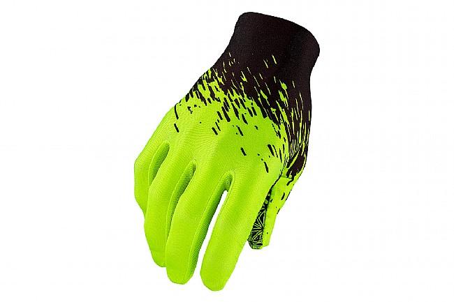 Supacaz SupaG Long Finger Glove Black/Neon Yellow