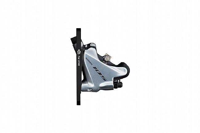 Shimano 105 BR-R7070 Flat Mount Disc Brake Caliper Front, Silver