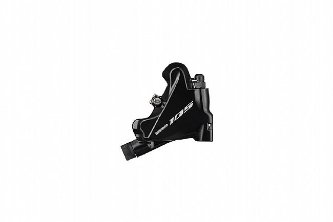 Shimano 105 BR-R7070 Flat Mount Disc Brake Caliper Rear, Black