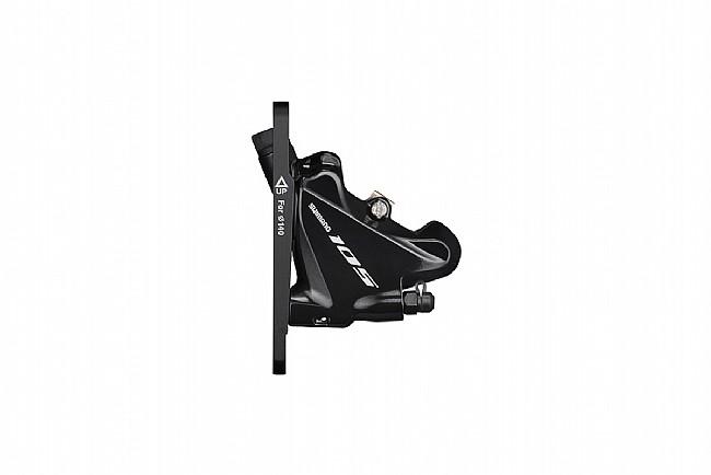 Shimano 105 BR-R7070 Flat Mount Disc Brake Caliper Front, Black