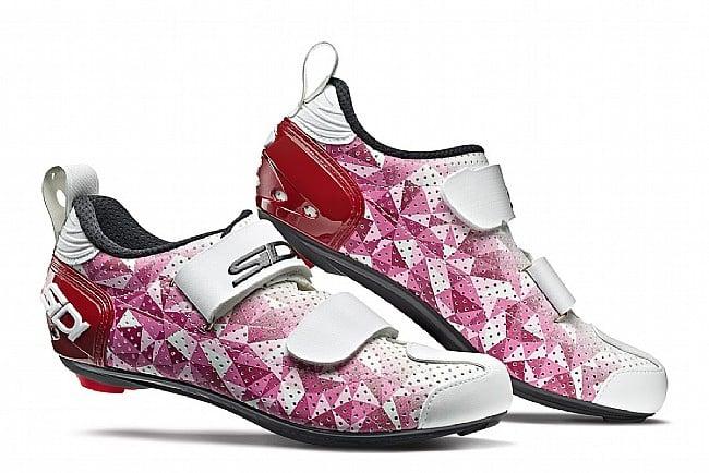 Sidi Womens T5 Air Triathlon Shoe Rose / Red / White - Size 38