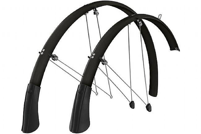 SKS Chromoplastic Longboard Fenders Black