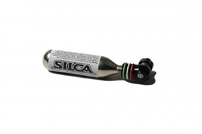 Silca Eolo III CO2 Inflator Cartridges not included.