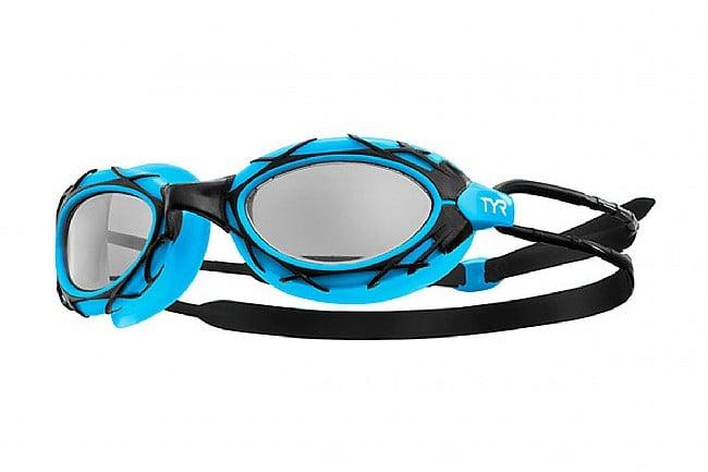 TYR Sport Nest Pro Goggle Blue Black Frame/Smoke Lens