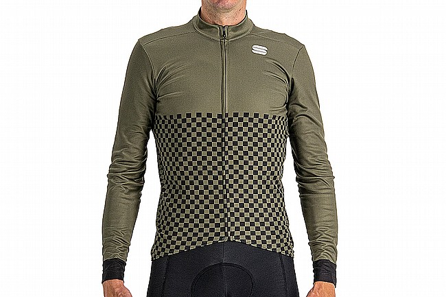Sportful Mens Checkmate Thermal Jersey