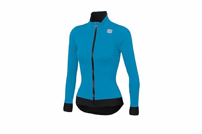 Sportful Womens Fiandre Medium Jacket Blue Atomic