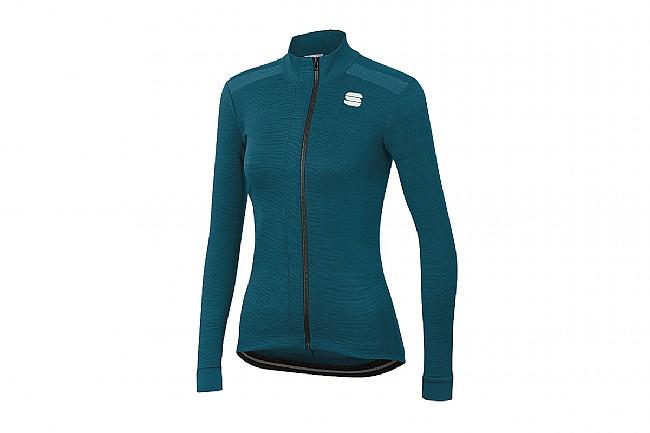 Sportful Womens Giara Thermal Jersey Blue Corsair