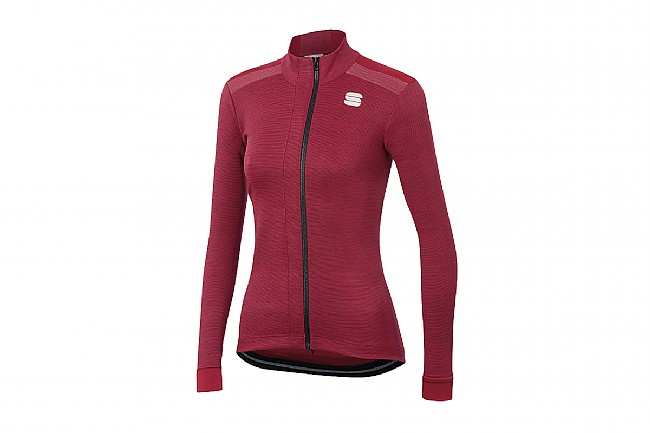Sportful Womens Giara Thermal Jersey Red Rumba