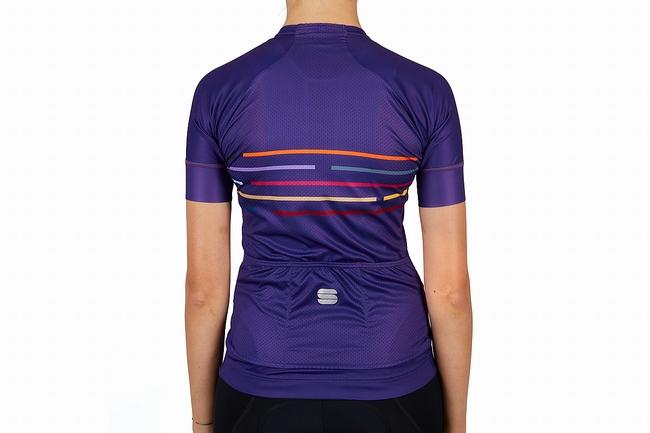 Sportful Womens Velodrome Jersey Violet