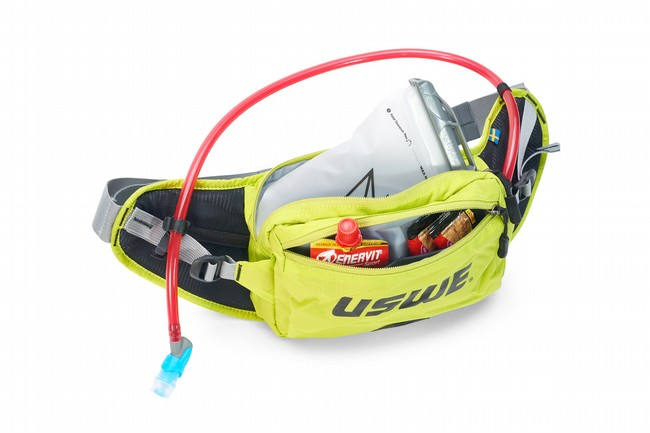 USWE Zulo 2 Hydration Hip Pack Crazy Yellow