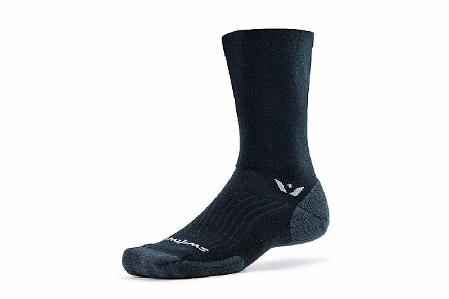 Swiftwick Pursuit Seven Merino Wool Sock Black