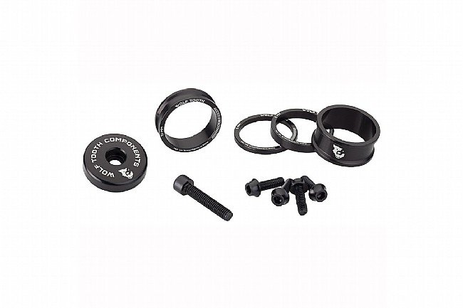 Wolf Tooth Components Anodized Bling Kit Black