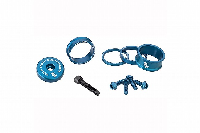 Wolf Tooth Components Anodized Bling Kit Blue