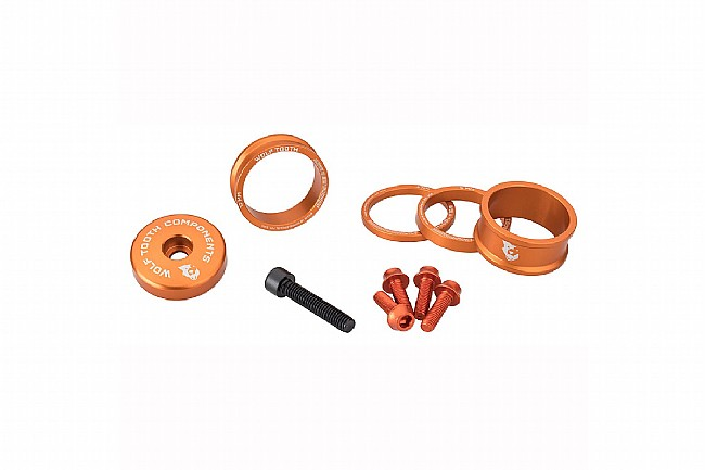 Wolf Tooth Components Anodized Bling Kit Orange