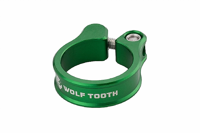 Wolf Tooth Components Seatpost Clamp Green