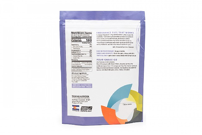 Tailwind Nutrition Endurance Fuel Berry Nutrition Facts (50 Servings)