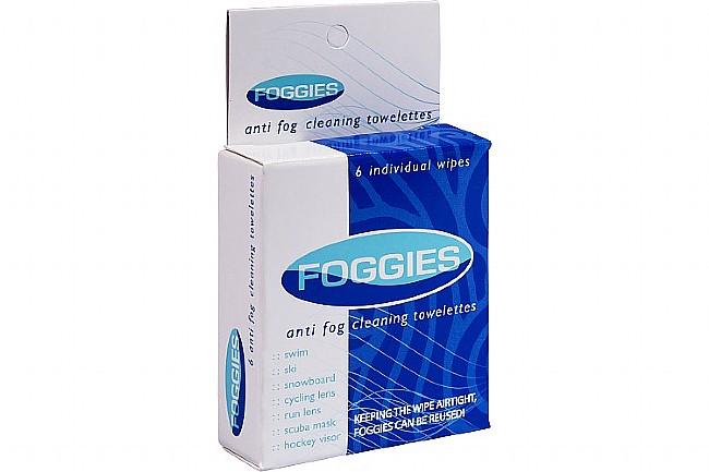 SBR Sports Foggies Anti-Fog Cleaning Towelettes: 6-Pack SBR Sports Foggies Anti-Fog Cleaning Towelettes: 6-Pack