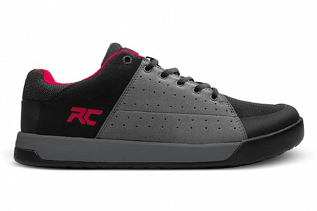 Ride Concepts Mens Livewire Shoe Charcoal/Red