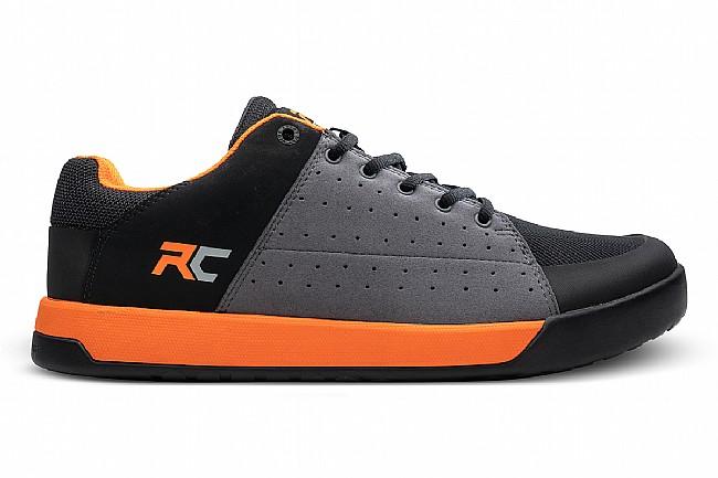 Ride Concepts Mens Livewire Shoe Charcoal/Orange