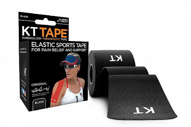 KT Tape Original Cotton Precut 10 Inch - Black
