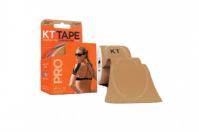 KT Tape Pro Synthetic Precut 10 Inch - Stealth Beige